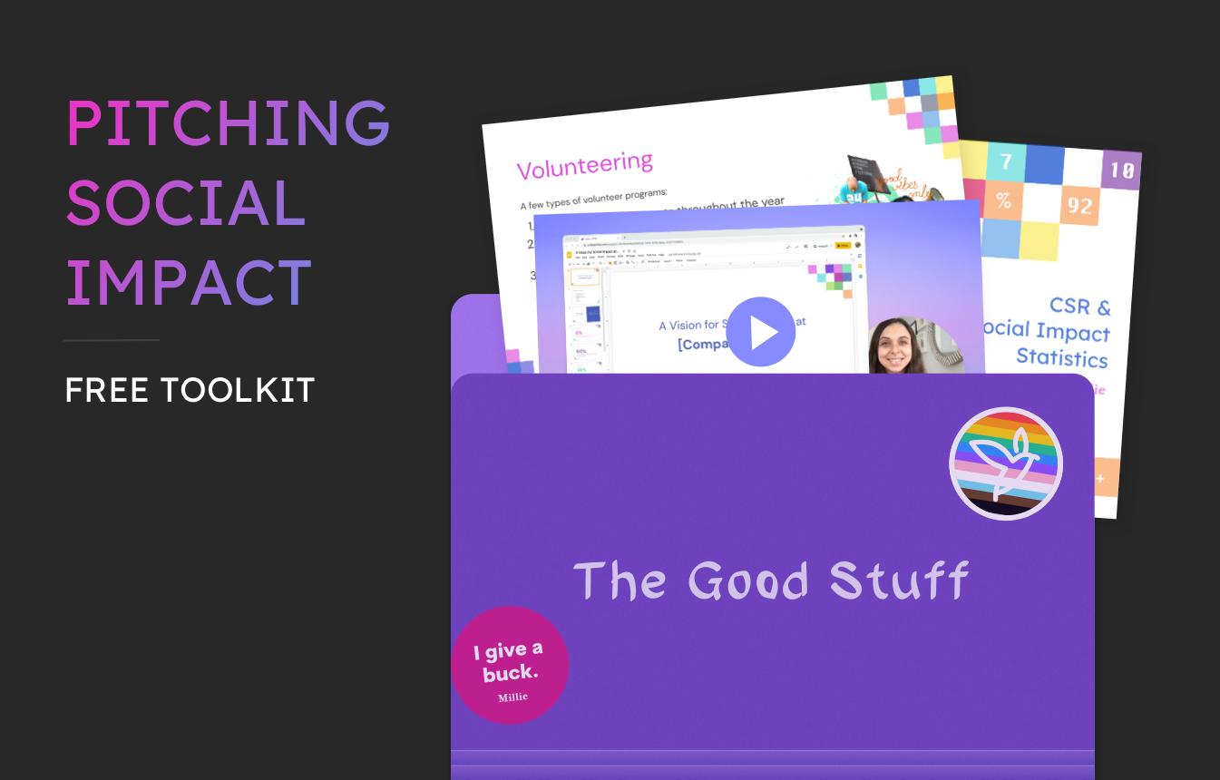pitching social impact toolkit