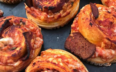 Vegan pepperoni pizza rolls are now on the menu