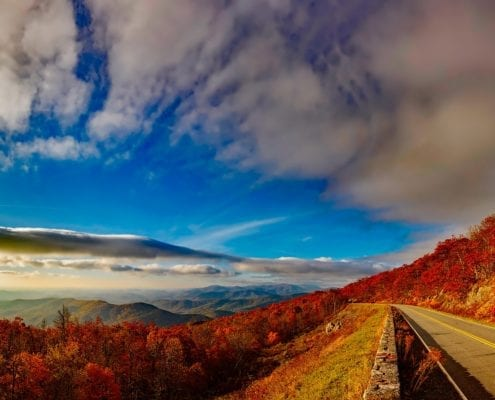 fall colors boone nc