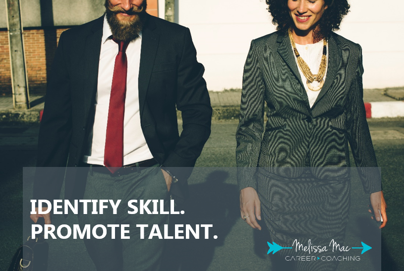 Identify Skill Promote Talent Melissa Mac