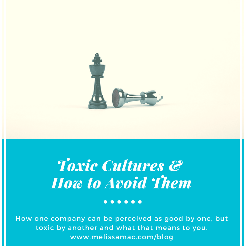 Toxic Cultures and How to Avoid Them