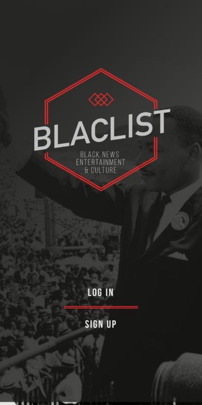 Blac(k)list Front Frame