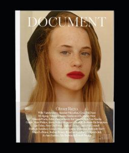 Alex Witjas - Document Journal