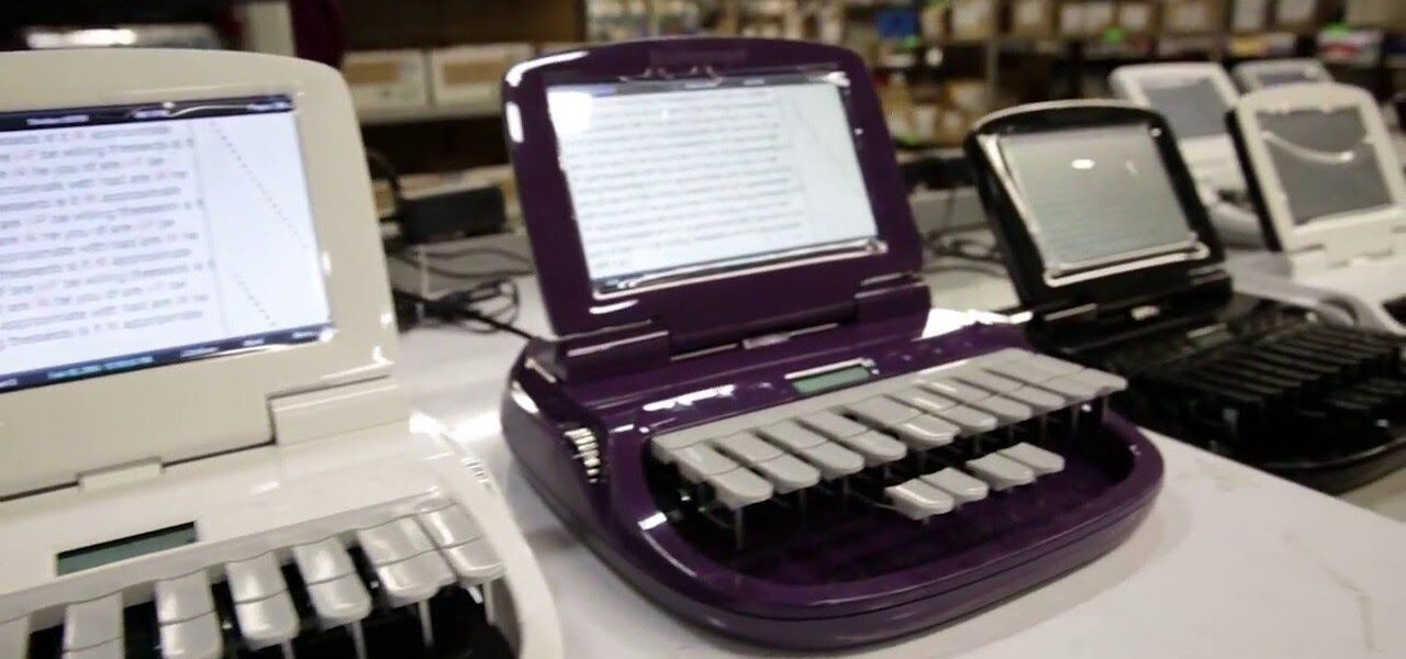 Laws Reporting Announces Information on Shorthand Machine