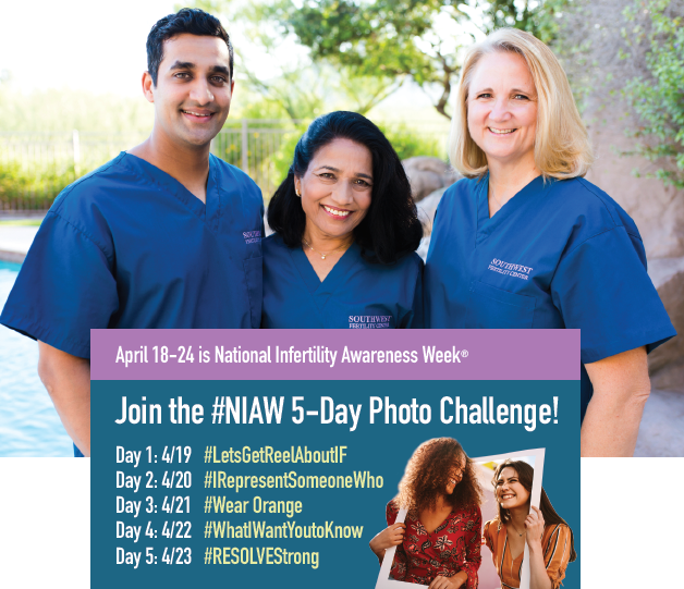 National Infertility Awareness Week supported by Southwest Fertility Center