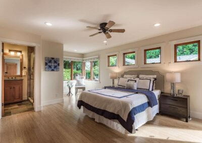 Staged home bedroom at 203-W-OakwoodBlvd-RedwoodCity-MasterBdrmA