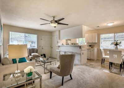 5645 Calmor Ave Home Staging