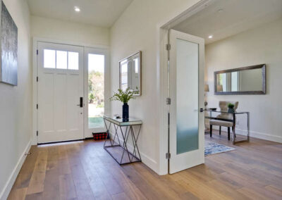 Front Entry View of a Staged Home at 1265 Lane Avenue Mountain View California