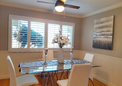 Staged Home Dining Room in San Jose California