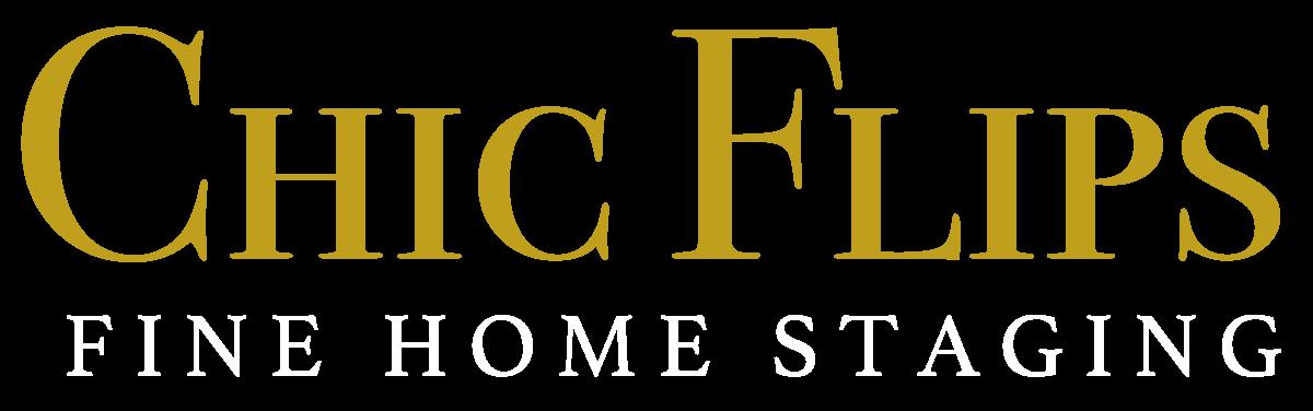 Chic Flips Logo White