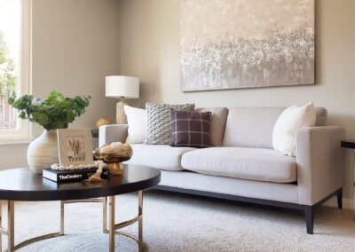 Family Room from a Staged Home at 1035 Johnson Avenue, San Jose, CA
