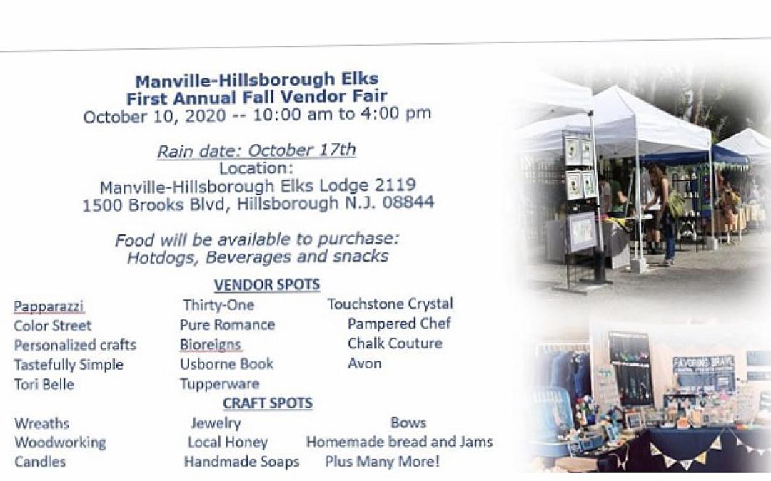 First Annual Fall Vendor Fair