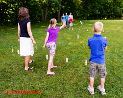 Norwegian Kubb game