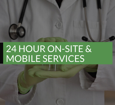 24 hour on-site and mobile services