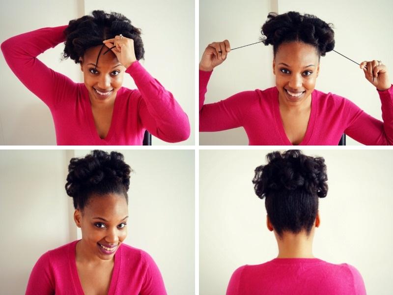 4B-Natural-Hair-Curly-Updo