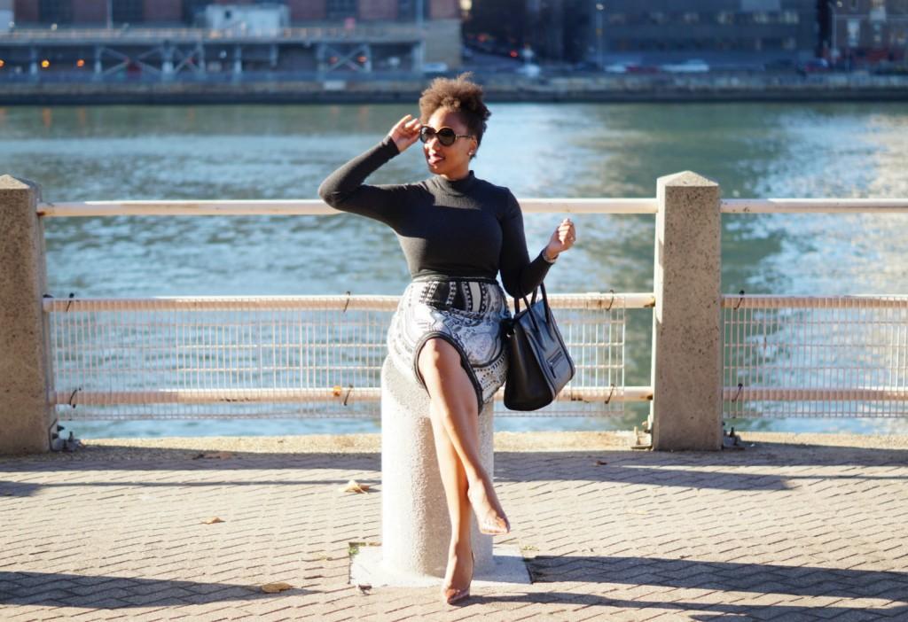 Rag & Bone x Coogi Sweater Skirt