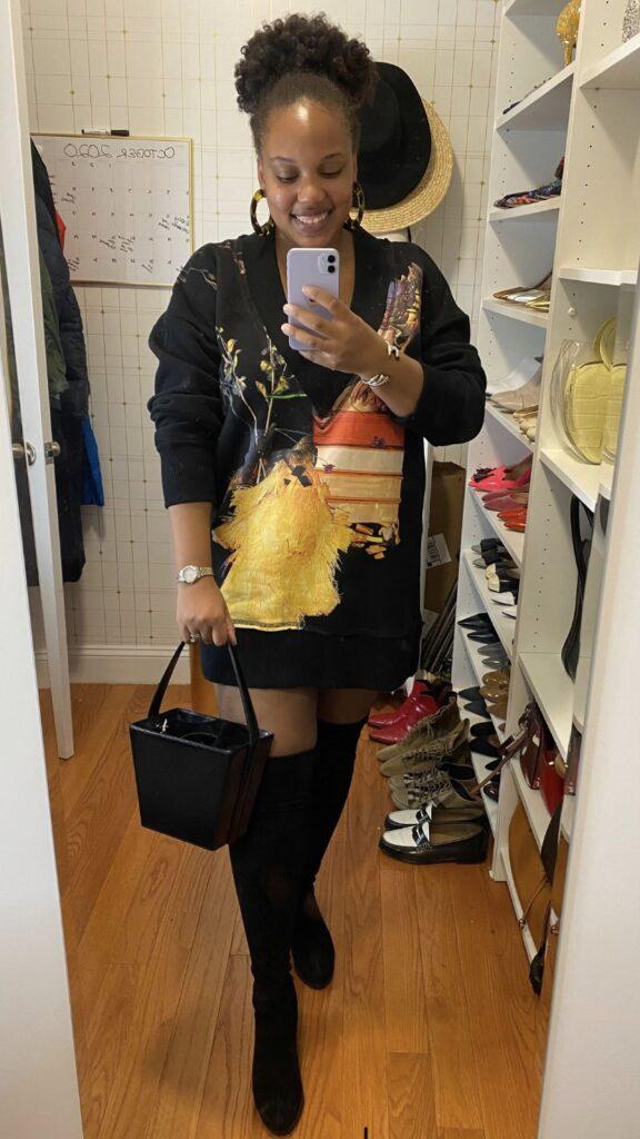 H&M Studio Sweatshirt Dress