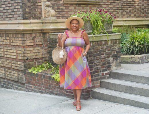 Walmart Summer Dress Trends - Time and Tru Smocked Midi Dress