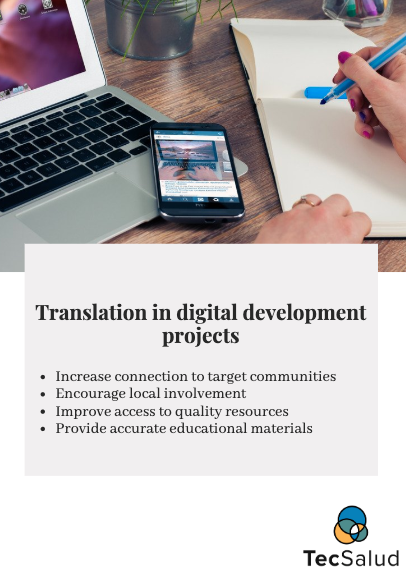 Why translate digital development resources