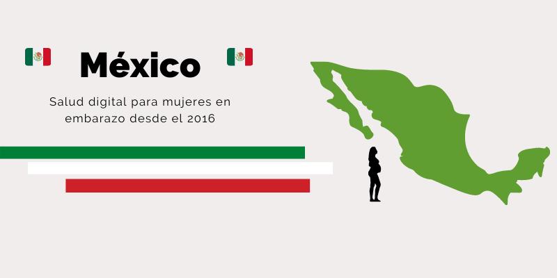 Mexico - salud digital mujeres embarazadas