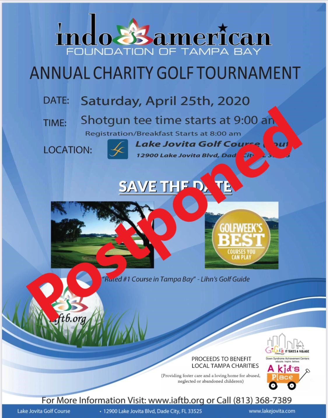 2020 Charity Golf Tournament
