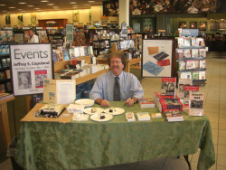 My first book event for Ain't No Harm to Kill the Devil! Great fun!