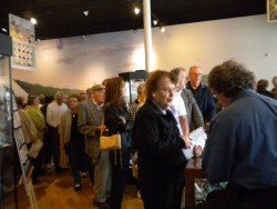 Book signing for Shell Games. Overflow crowd that day -- a bunch of wonderful folks!