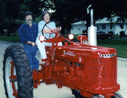 OK, it goes slow, but I also love old tractors.  I'm teaching my aunt to drive one