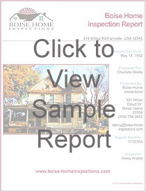Home Inspection Report Sample
