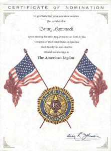 American Legion Member