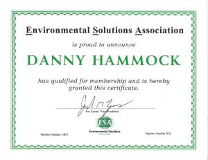 Environmental Solutions Association Member