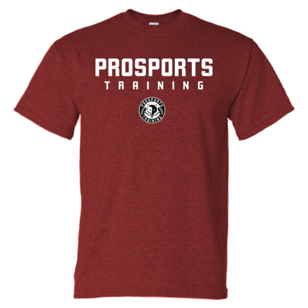 An image of a red mens Pro Sports Training T-shirt