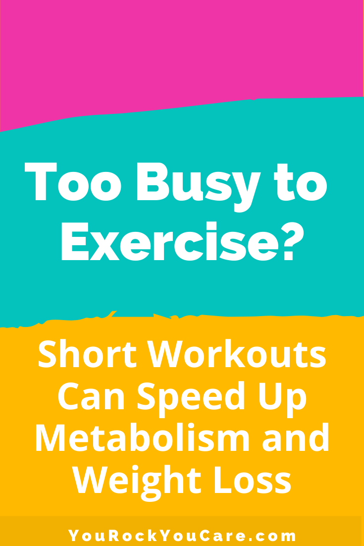 Physical Activity: Short Workouts Can Speed Up Metabolism and Weight Loss