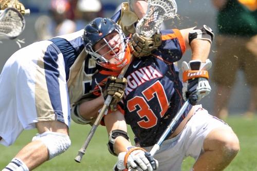 NCAA Lacrosse: Division I Men's Lacrosse Quarterfinals-Notre Dame vs Virginia