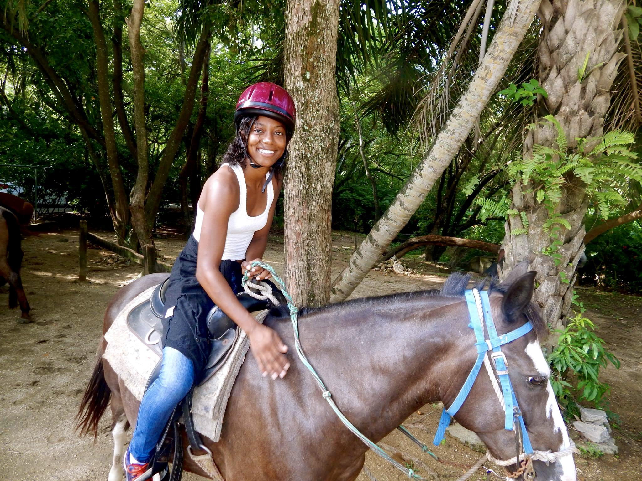 horse back ridin