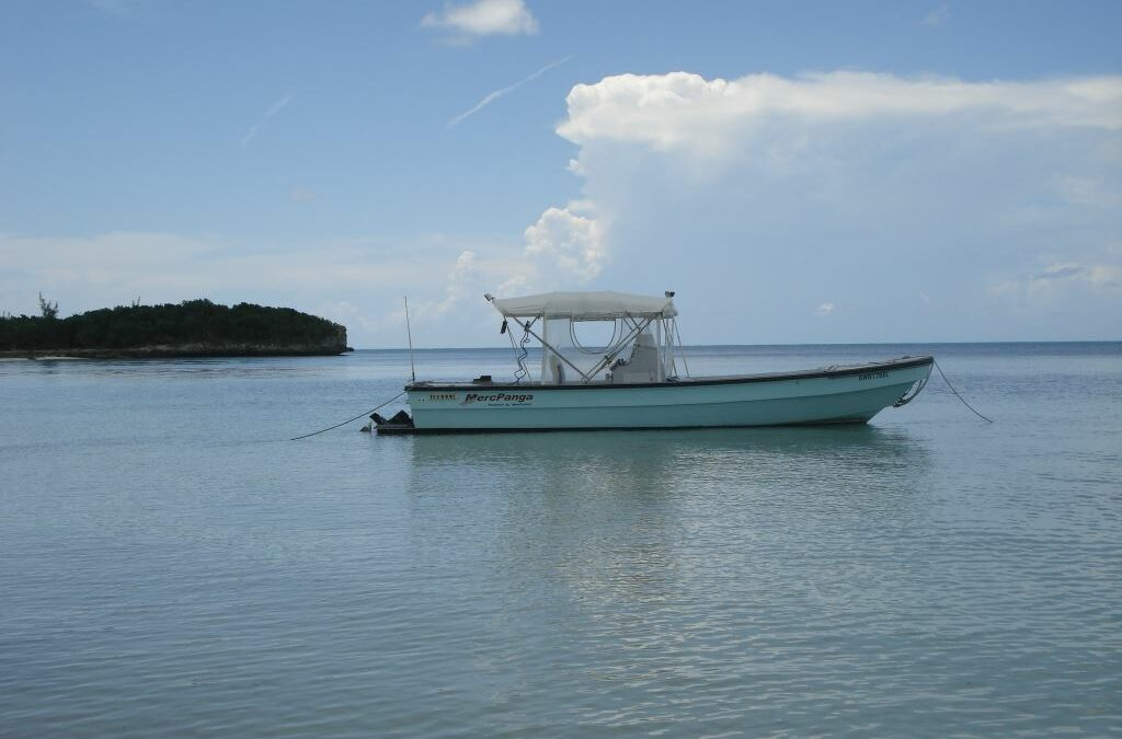 History of The Spanish Wells, Bahamas Panga Boat