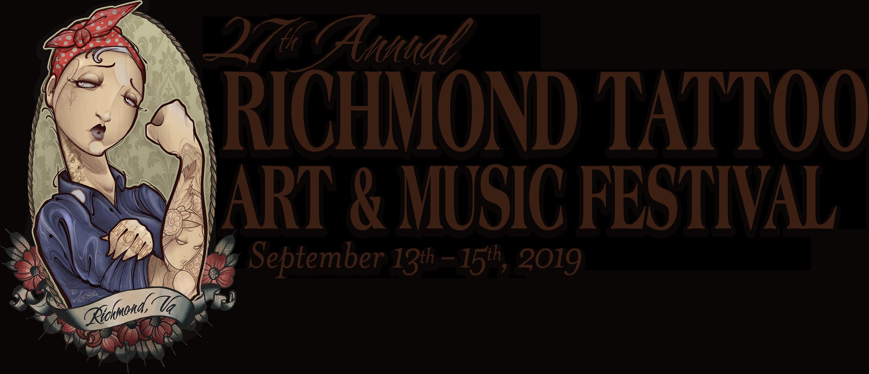Richmond Tattoo Art & Music Festival logo