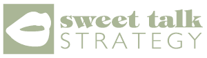 Sweet Talk Strategy green logo