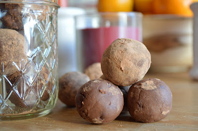 Double-Chocolate Chip Cookie Dough Truffles