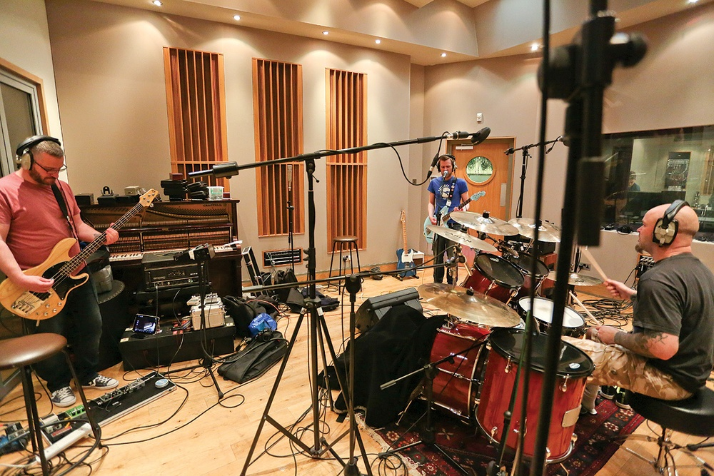 The Difference Between Playing Live and Layering in the Recording Studio