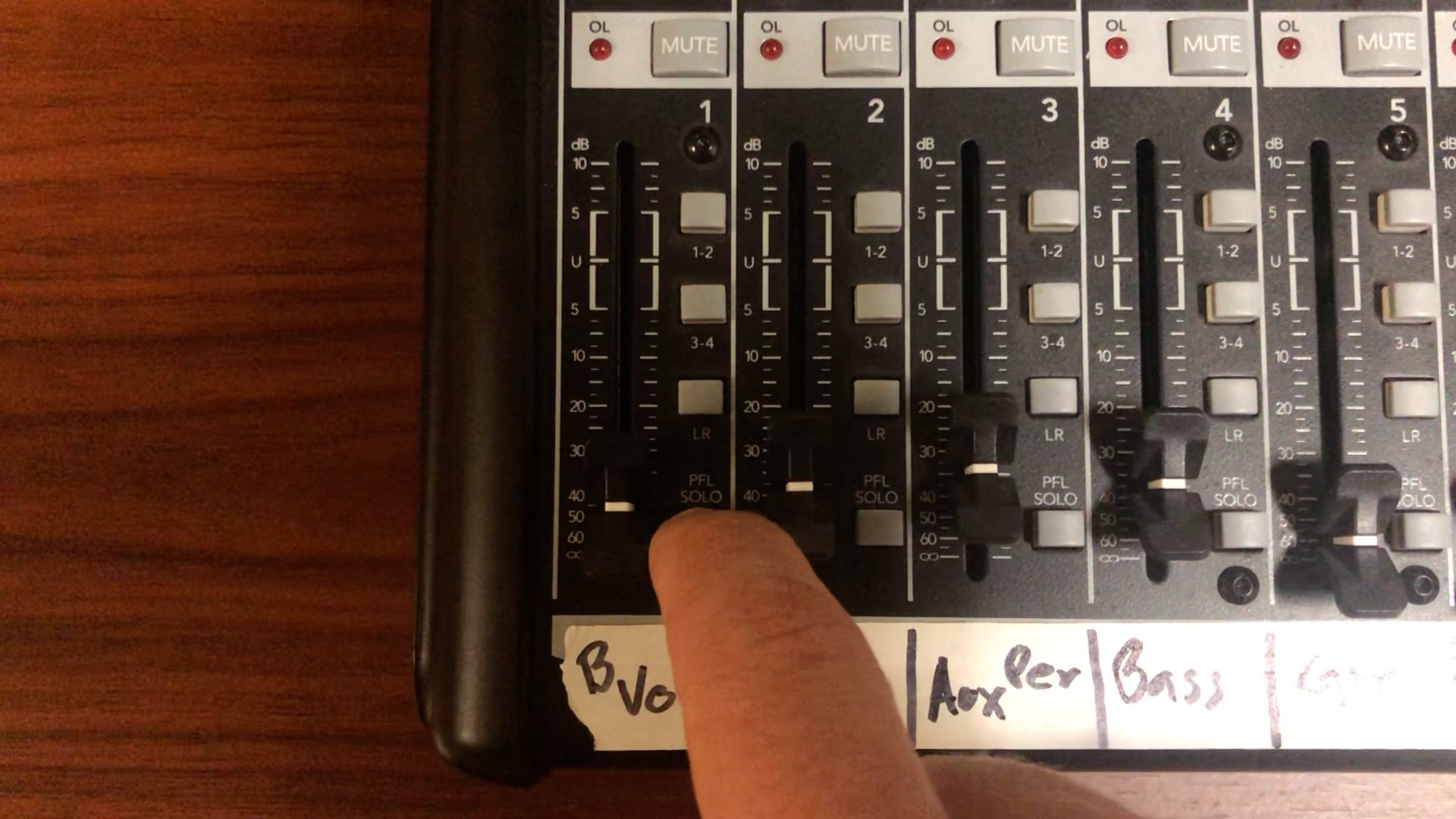 Mixer Basics Part 2 – What is the PFL Button?