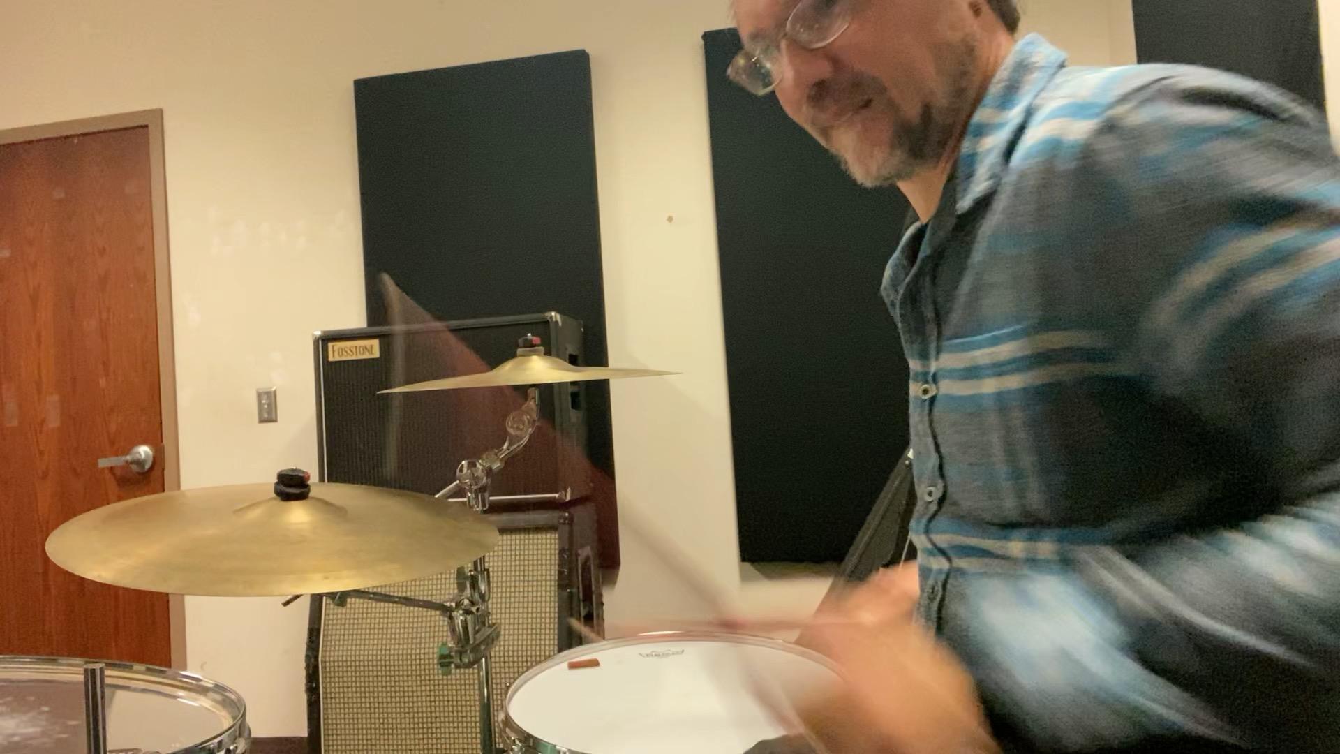 Perry's Drum Setup