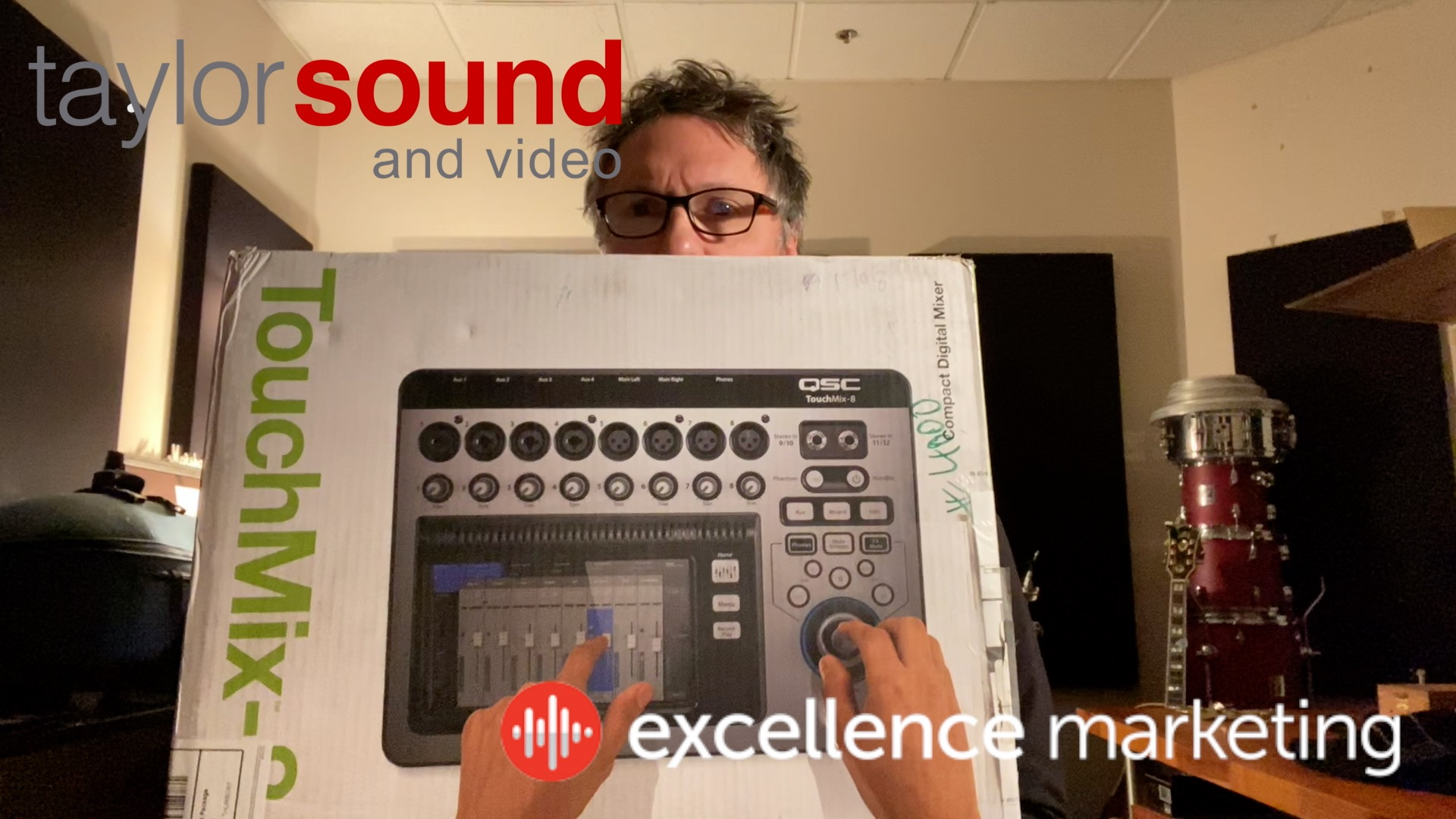 Unboxing the QSC Touchmix 8 Mixing Console