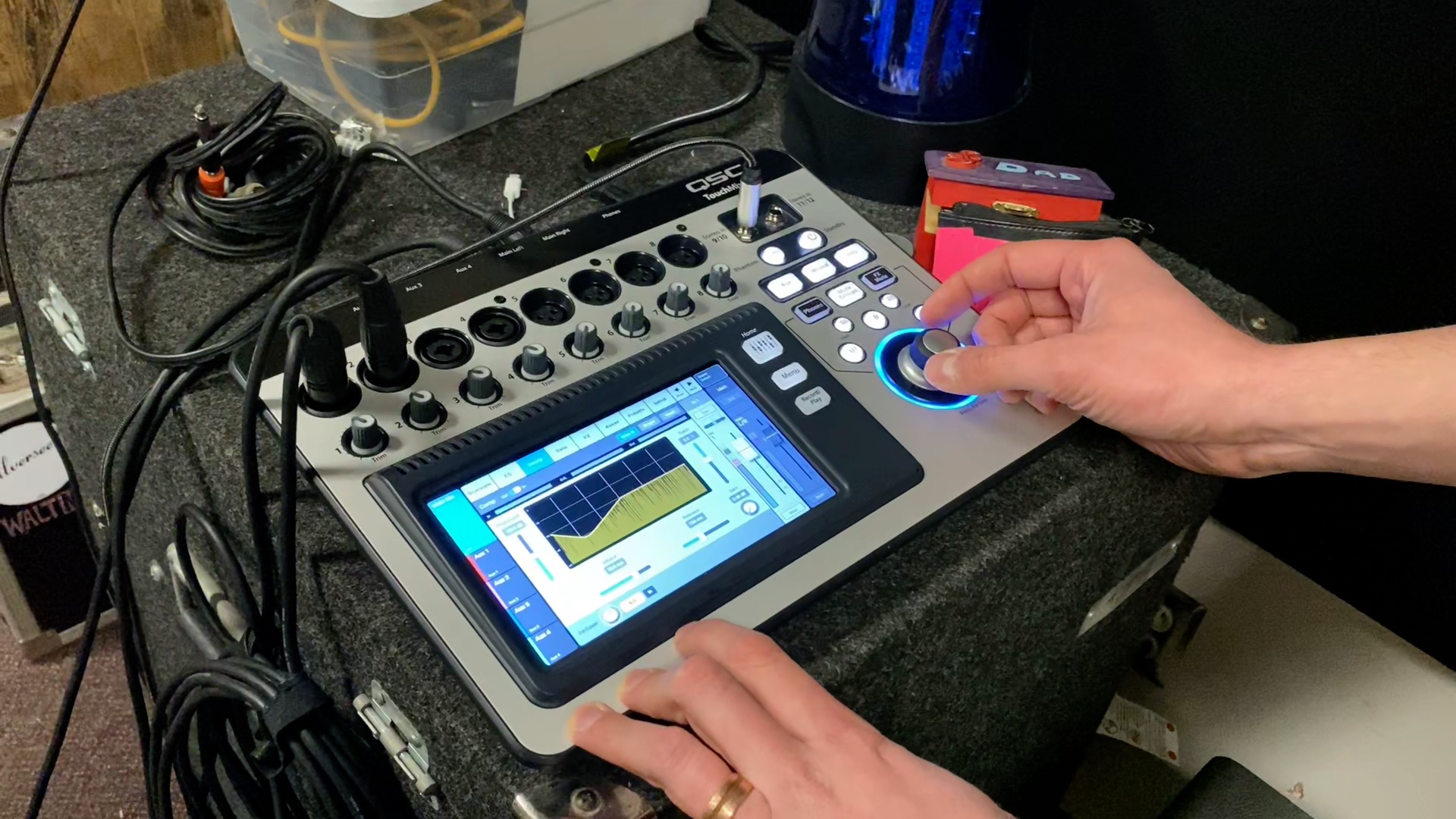 Training with Joe Kokal: Part 2 – Dialing in the Vocals with the QSC TouchMix 8