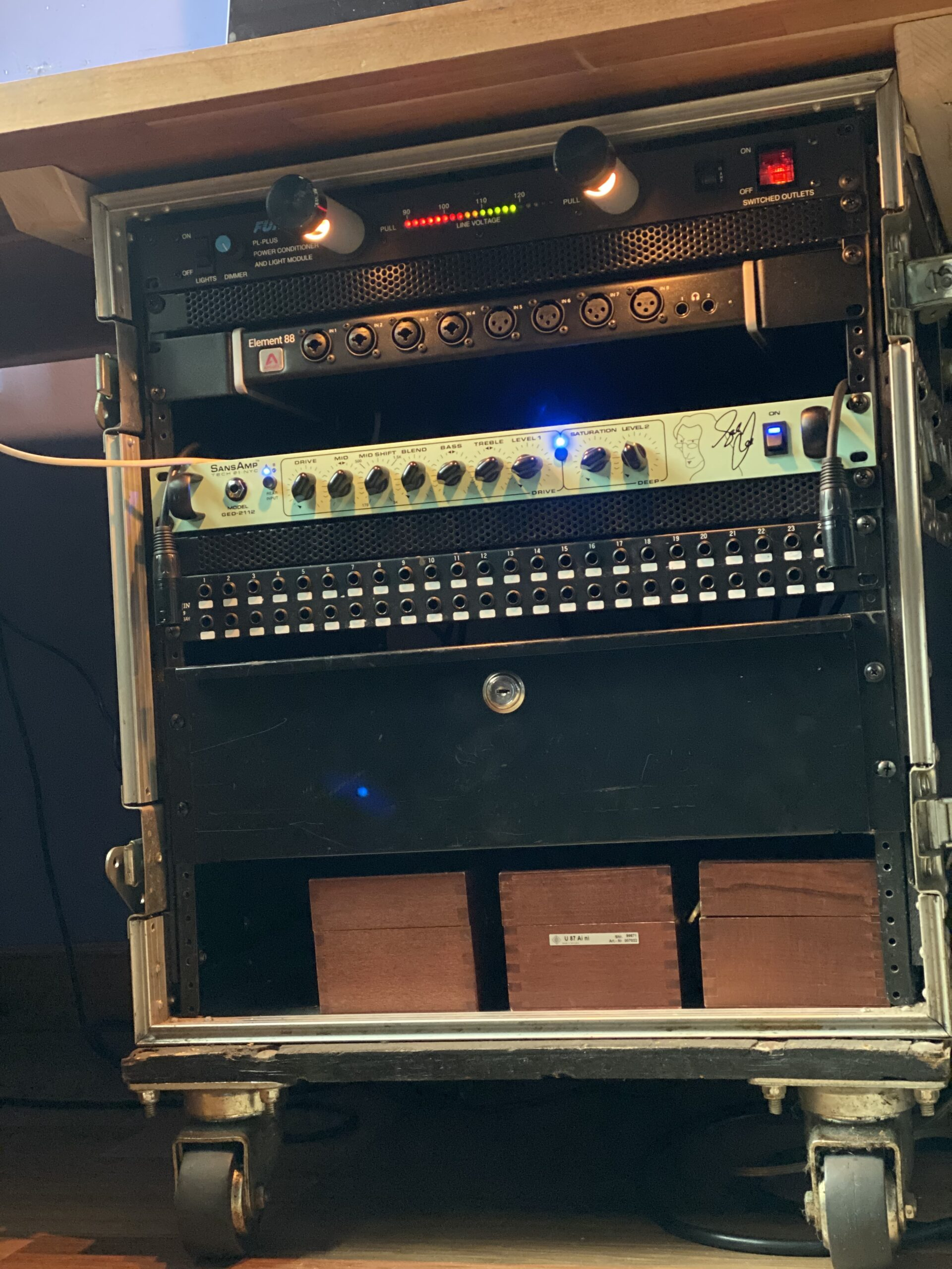 Setting up a Recording Rig in Your Rehearsal Space