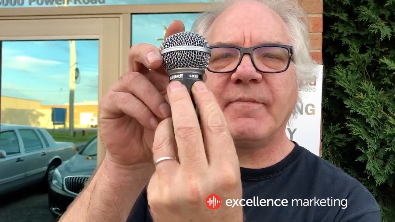 Brynn Arens of the band Flipp talks about the iconic Shure SM58 Microphone.