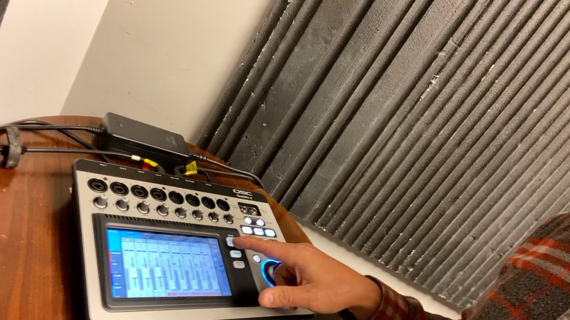 The First Thing to Learn on the QSC Touchmix – The Home Button