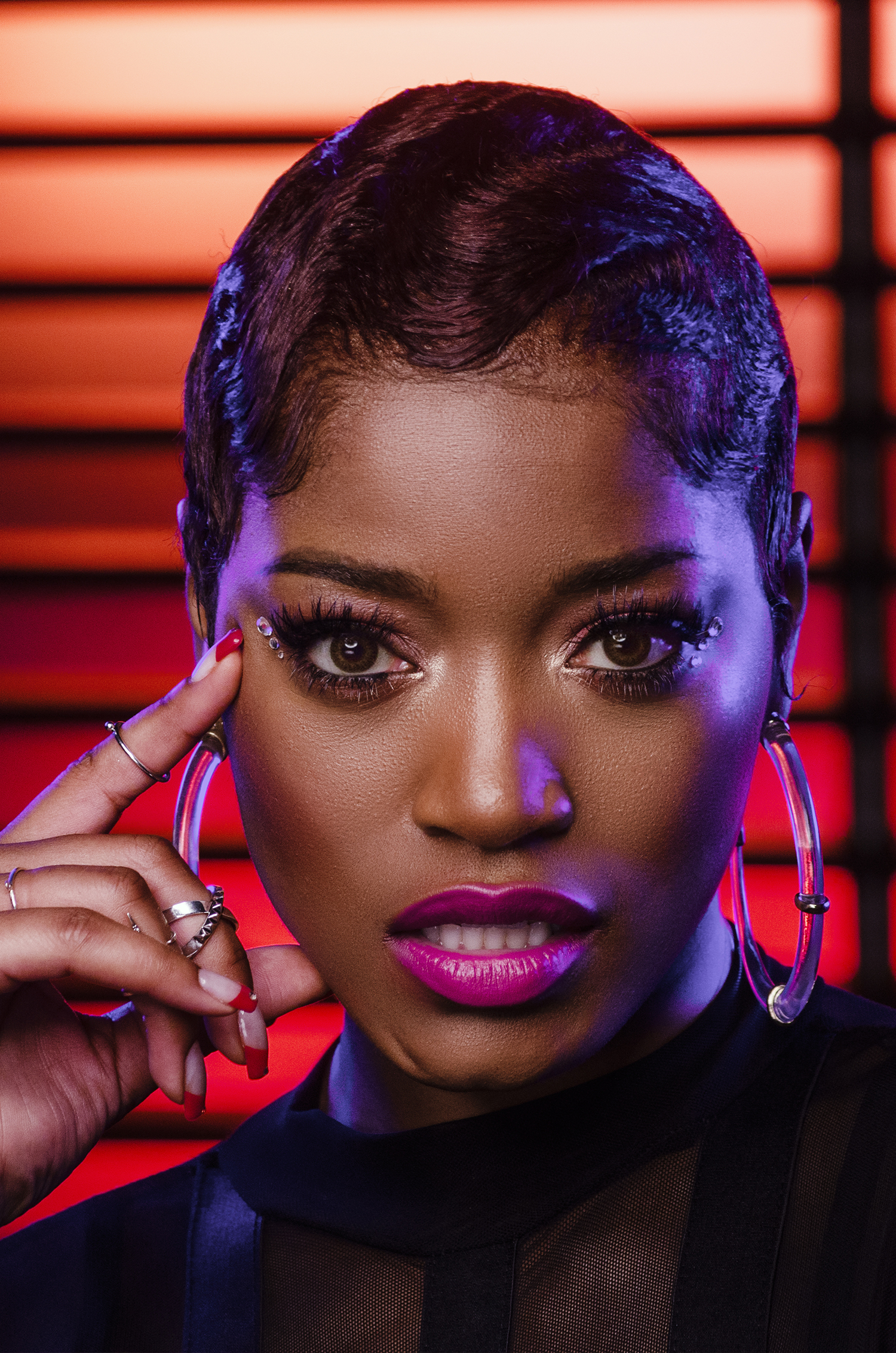 Keke Palmer Glam Beauty