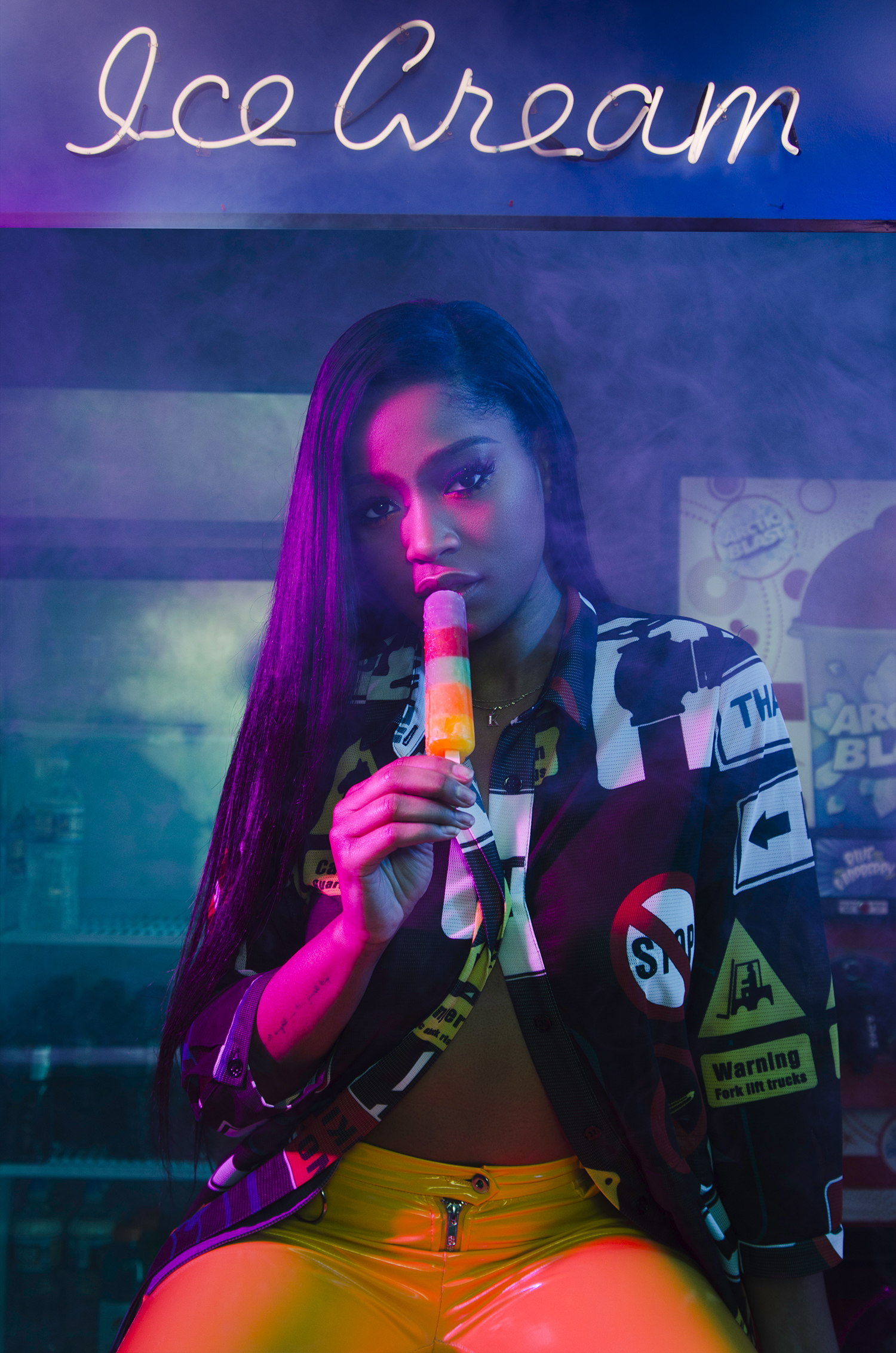 Keke Palmer Ice Cream _ Lawrence S Murray