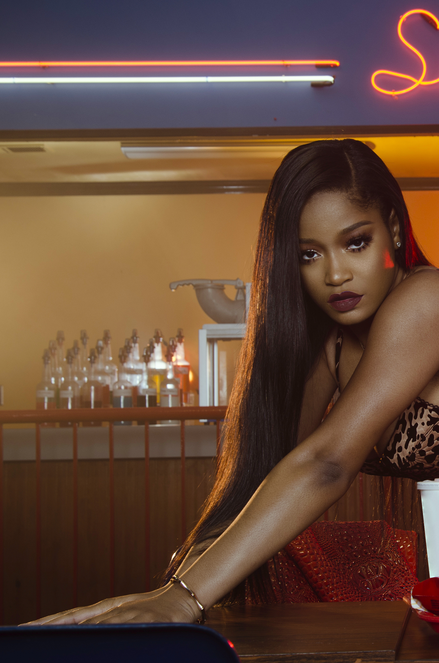 Keke Palmer Snack _ Lawrence S Murray 001